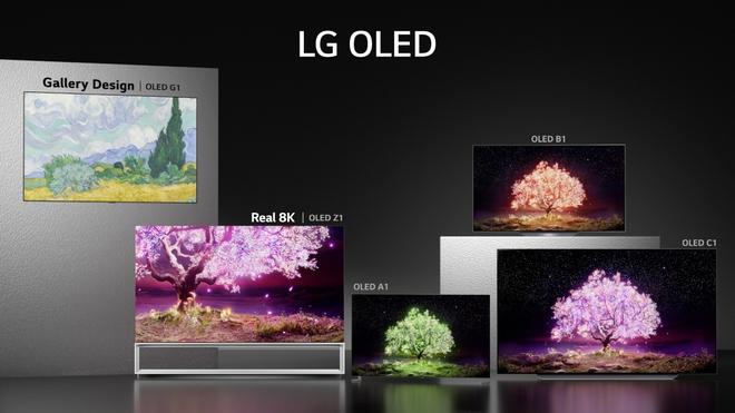 LG ra mắt dòng TV OLED 2021 tại VN, giá khởi điểm từ 33.9 triệu, bản đắt nhất có giá 690 triệu - Ảnh 3.