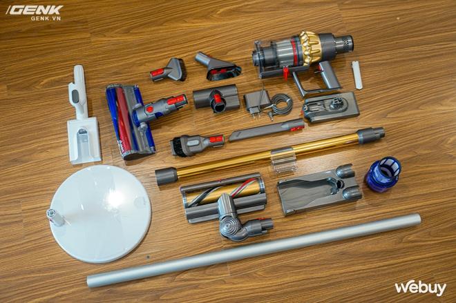 Trải nghiệm máy hút bụi Dyson giá 21 triệu: Nhiều phụ kiện, lắp ghép như LEGO, hút khỏe, chỉ hợp với nhà sang chảnh - Ảnh 5.