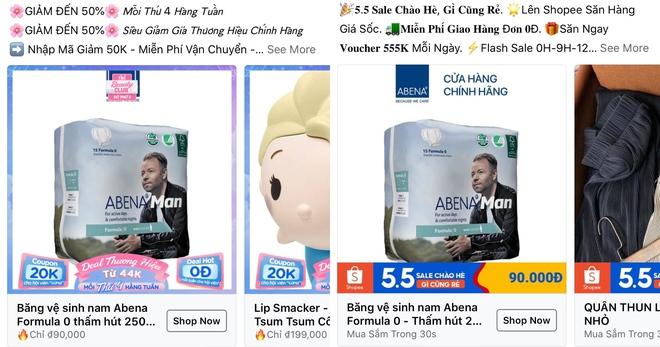 Quảng cáo băng vệ sinh cho nam đột nhiên xuất hiện đầy rẫy trên mạng, vậy món này thực sự là gì? - Ảnh 1.