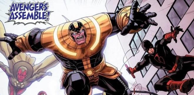 Thanos từng hợp tác với Avengers, thậm chí còn chỉ huy biệt đội này đánh bại kẻ thù chung, bảo vệ hòa bình Trái Đất - Ảnh 1.