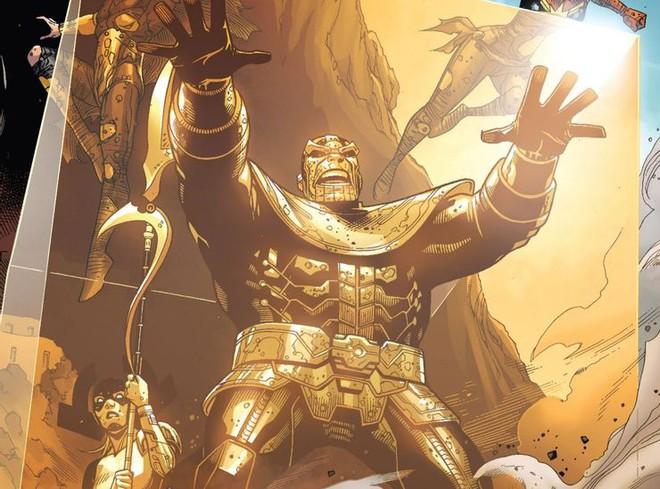 Thanos từng hợp tác với Avengers, thậm chí còn chỉ huy biệt đội này đánh bại kẻ thù chung, bảo vệ hòa bình Trái Đất - Ảnh 2.
