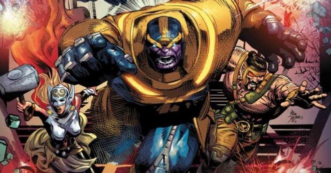Thanos từng hợp tác với Avengers, thậm chí còn chỉ huy biệt đội này đánh bại kẻ thù chung, bảo vệ hòa bình Trái Đất - Ảnh 3.