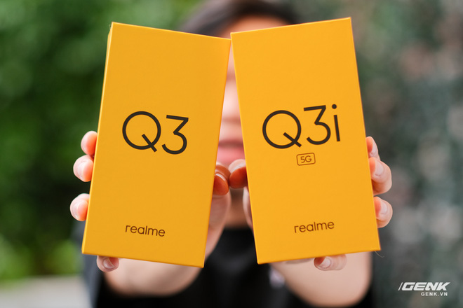 Trên tay bộ đôi Realme Q3 và Q3i: Màn hình 90Hz/120Hz, pin 5000mAh, hỗ trợ 5G, giá rẻ chỉ từ 3.6 triệu đồng - Ảnh 1.