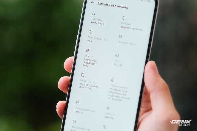 Trên tay bộ đôi Realme Q3 và Q3i: Màn hình 90Hz/120Hz, pin 5000mAh, hỗ trợ 5G, giá rẻ chỉ từ 3.6 triệu đồng - Ảnh 17.