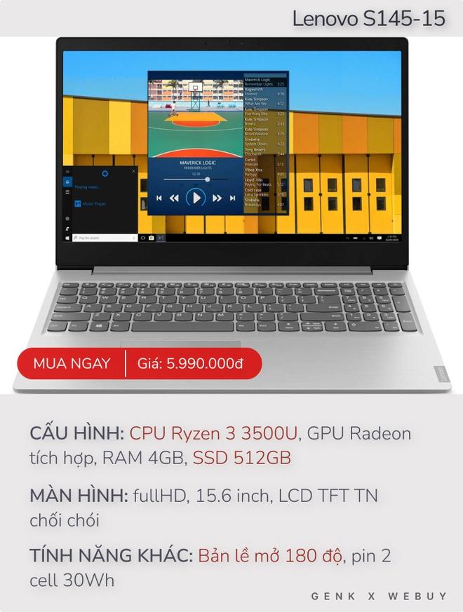 Từ 6 triệu đã có cả loạt lựa chọn laptop Ryzen 3 ngon - bổ, cực hợp cho học sinh, sinh viên - Ảnh 2.