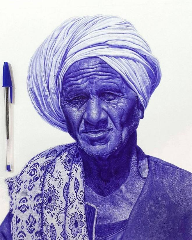 Ngất ngây với những bức tranh vẽ bằng bút bi mà cứ ngỡ là ảnh thật - Ảnh 6.