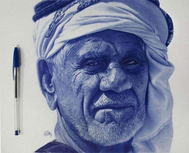 Ngất ngây với những bức tranh vẽ bằng bút bi mà cứ ngỡ là ảnh thật - Ảnh 4.