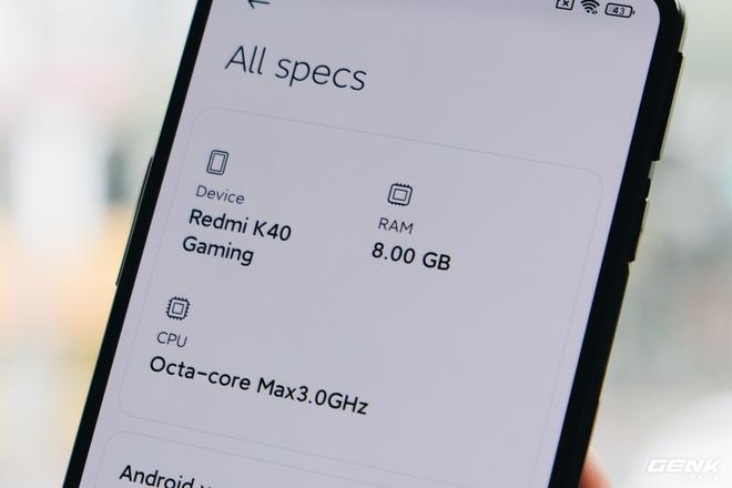 Trên tay Redmi K40 Gaming: Smartphone gaming cấu hình mạnh, giá rẻ nhưng thiếu vắng dịch vụ Google - Ảnh 15.