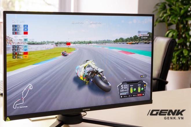 Ảnh thực tế Odyssey G3: Màn hình gaming giá mềm cho game thủ, trang bị từ AMD FreeSync Premium, tần số quét 144Hz, độ phản hồi chỉ 1ms - Ảnh 6.