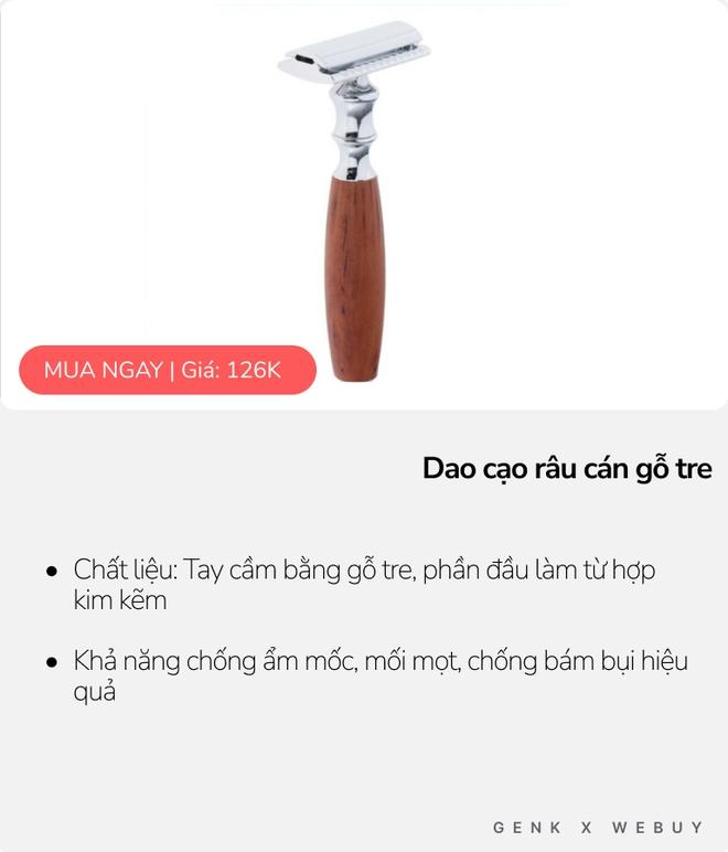 Dao cạo râu giờ còn làm từ tre, bột rơm… bán đầy chợ mạng Việt, có loại chỉ giá chỉ 4K mua về xài tẹt ga - Ảnh 2.
