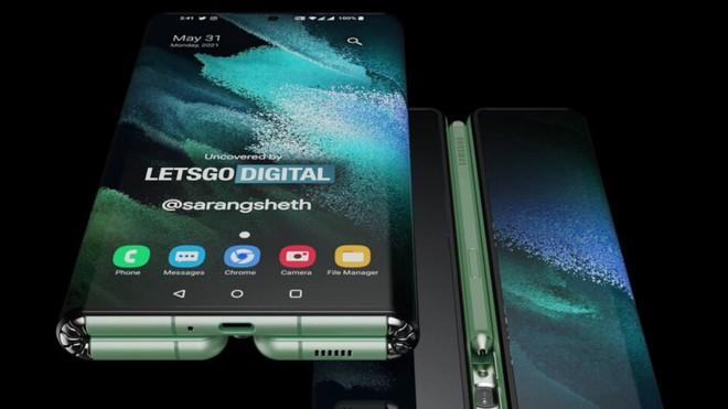 Đây có thể là thiết kế cuối cùng của Samsung Galaxy Z Fold Tab - Ảnh 1.
