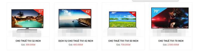 """Thuê tivi mùa bóng liệu có rẻ? Loại nhỏ chỉ từ 250K/ngày nhưng loại size """"khủng"""" lại tốn ra phết! - Ảnh 2."""
