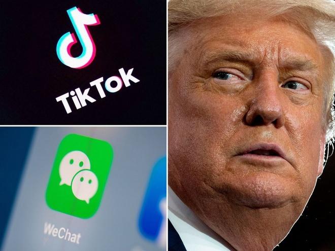TikTok, WeChat thoát lệnh cấm của cựu Tổng thống Mỹ Donald Trump - Ảnh 1.