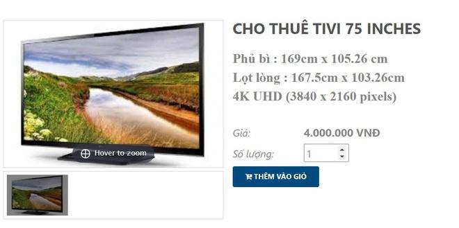 """Thuê tivi mùa bóng liệu có rẻ? Loại nhỏ chỉ từ 250K/ngày nhưng loại size """"khủng"""" lại tốn ra phết! - Ảnh 4."""