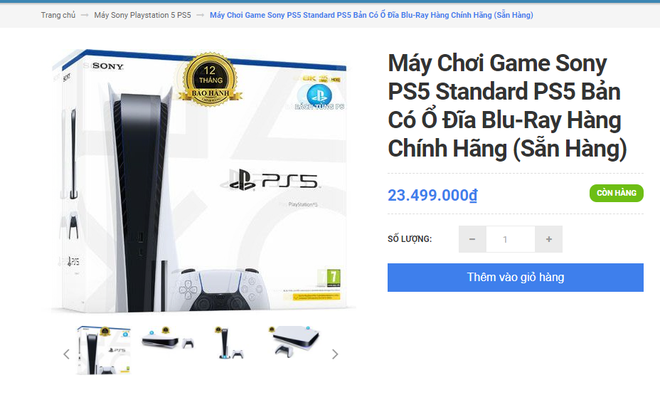 It's as hard as buying a genuine PS5 in Vietnam: More expensive than the listed price of Sony by 9 million, it's better to buy a portable product!  - Photo 2.