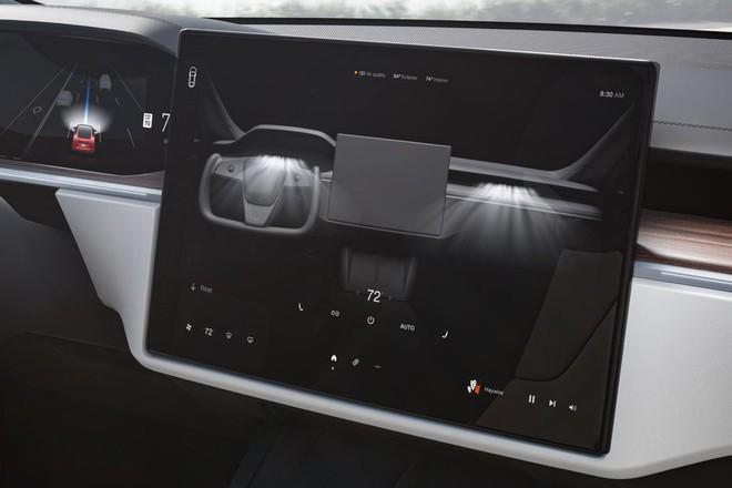Tesla ra mắt mẫu xe Model S Plaid hiệu năng cao, tốc độ siêu nhanh, mạnh ngang PS5, giá bán từ 131.100 USD - Ảnh 5.