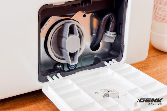 Trải nghiệm thực tế máy giặt Samsung AI: Kết nối trực tiếp với điện thoại, đo được khối lượng độ bẩn quần áo, giá bán 14 triệu đồng - Ảnh 16.