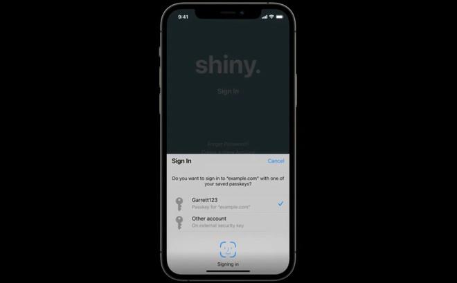 """Hệ điều hành iOS sẽ sớm """"khai tử"""" mật khẩu và nâng cấp tài khoản của chúng ta khó bị hack hơn - Ảnh 2."""