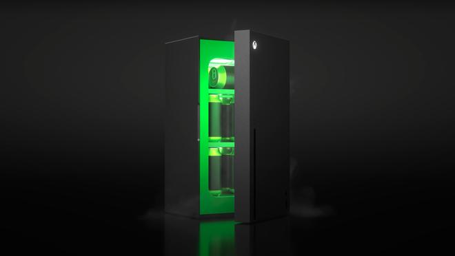 Tưởng chỉ là trò đùa của cộng đồng mạng, ai dè Microsoft biến Xbox Series X thành tủ lạnh mini thật luôn - Ảnh 1.