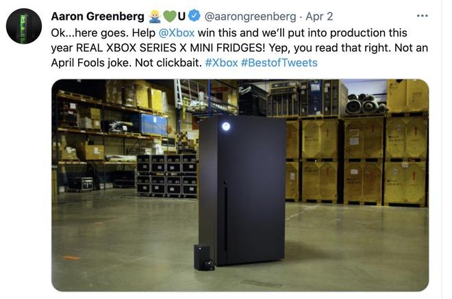 Tưởng chỉ là trò đùa của cộng đồng mạng, ai dè Microsoft biến Xbox Series X thành tủ lạnh mini thật luôn - Ảnh 4.