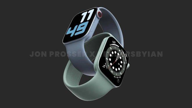 Apple Watch Series 7 có thiết kế mới, viền màn hình mỏng hơn, Ultra Wideband, chip xử lý mới và pin lớn hơn - Ảnh 1.