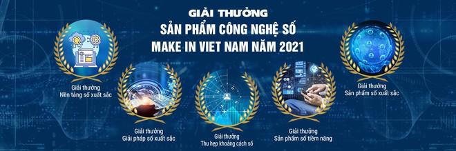 """Giải thưởng """"Sản phẩm Công nghệ số Make in Viet Nam"""" năm 2021 sắp được phát động - Ảnh 1."""