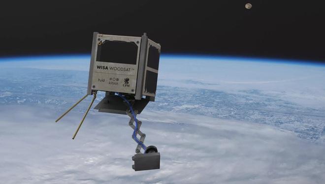 Từ vật liệu làm nội thất bình dân, ván ép được sử dụng để chế tạo vệ tinh phóng lên vũ trụ trong năm nay - Ảnh 1.