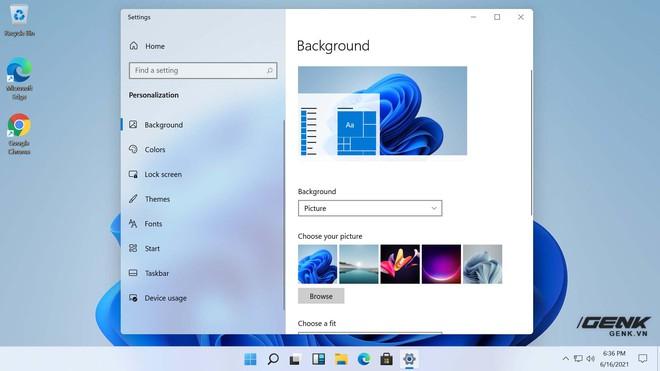 Mời tải về bộ hình nền mới cực đẹp của Windows 11 - Ảnh 1.