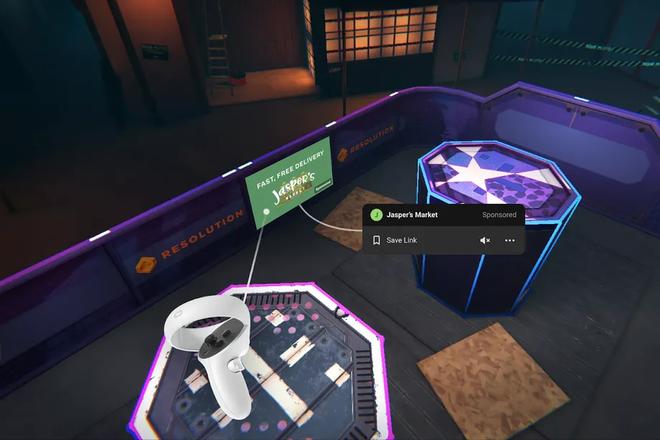 Facebook chuẩn bị bật quảng cáo trong môi trường thực tế ảo của Oculus Quest - Ảnh 1.