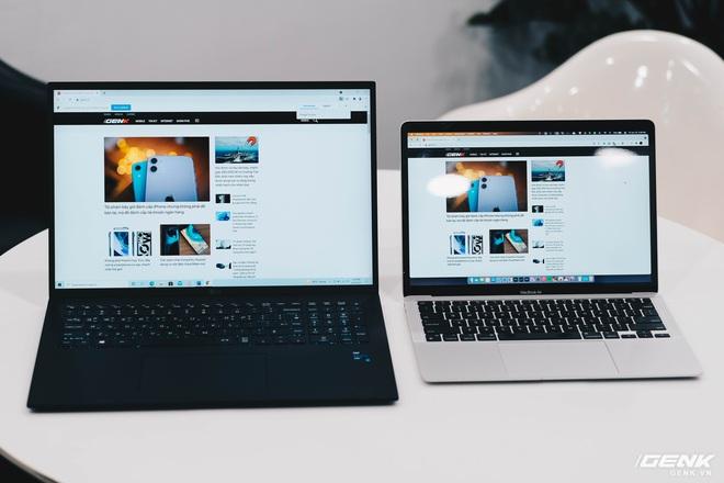 Trên tay LG Gram 2021: Laptop 17 inch nhưng chỉ nặng bằng laptop 13 inch hãng khác - Ảnh 4.