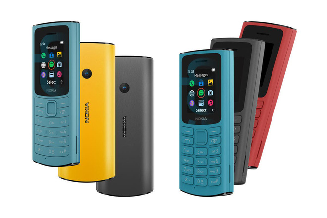 Nokia 110 4G và Nokia 105 4G ra mắt với thiết kế mới - Ảnh 1.