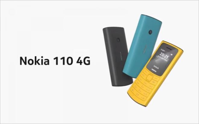 Nokia 110 4G và Nokia 105 4G ra mắt với thiết kế mới - Ảnh 2.