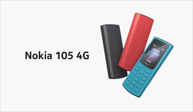 Nokia 110 4G và Nokia 105 4G ra mắt với thiết kế mới - Ảnh 3.