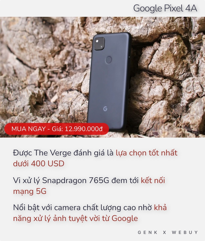 Chuyên trang công nghệ The Verge khẳng định đây là 10 smartphone đáng xuống tiền nhất nửa đầu 2021 - Ảnh 9.