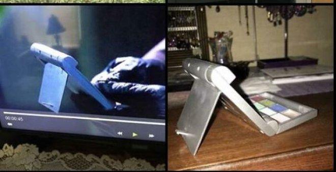 Ngã ngửa với những đạo cụ trong phim sci-fi, tưởng công nghệ cao hóa ra toàn những vật dụng quen thuộc thế này đây - Ảnh 1.