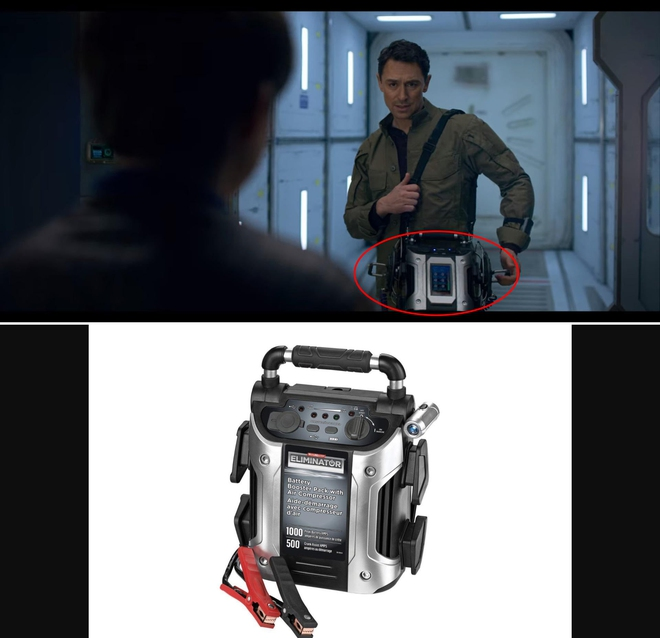 Ngã ngửa với những đạo cụ trong phim sci-fi, tưởng công nghệ cao hóa ra toàn những vật dụng quen thuộc thế này đây - Ảnh 11.