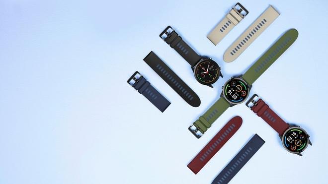 Xiaomi Mi Watch Revolve Active ra mắt: GPS tích hợp, có đo SpO2, pin 14 ngày, giá chỉ hơn 3 triệu đồng - Ảnh 3.
