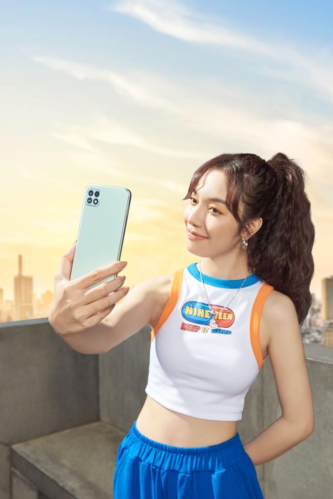 Galaxy A22 ra mắt tại VN: Camera chống rung OIS, màn hình 90Hz, có bản hỗ trợ 5G, giá từ 5.9 triệu đồng - Ảnh 1.