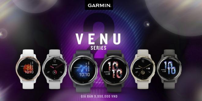 Garmin ra mắt Venu 2 và Venu 2S: Nhiều màu sắc lựa chọn, nâng cấp màn hình AMOLED độ phân giải cao, hỗ trợ hơn 75 bài tập có hình động để tự tập tại nhà - Ảnh 5.