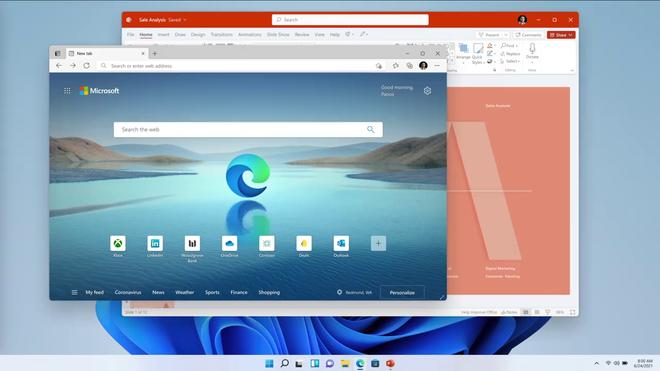 Windows 11 ra mắt: Sao chép nhiều tính năng từ macOS, chạy được app Android, cập nhật miễn phí - Ảnh 3.
