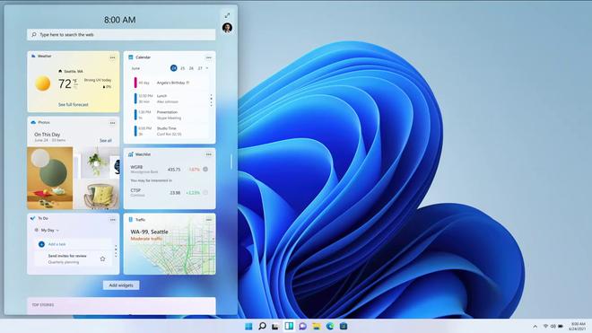 Windows 11 ra mắt: Sao chép nhiều tính năng từ macOS, chạy được app Android, cập nhật miễn phí - Ảnh 6.