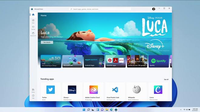 Windows 11 ra mắt: Sao chép nhiều tính năng từ macOS, chạy được app Android, cập nhật miễn phí - Ảnh 12.