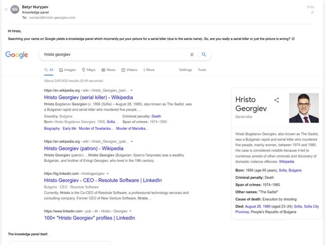 Google biến một chàng kỹ sư thành kẻ giết người hàng loạt khét tiếng trong lịch sử - Ảnh 2.