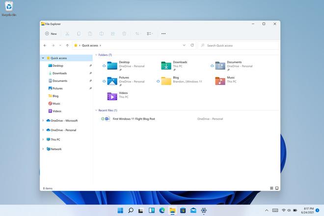 Microsoft ra mắt phiên bản Windows 11 Preview, có thể tải về ngay bây giờ - Ảnh 2.