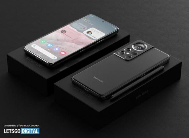 Đây có thể là thiết kế của Samsung Galaxy S22 Ultra - Ảnh 3.