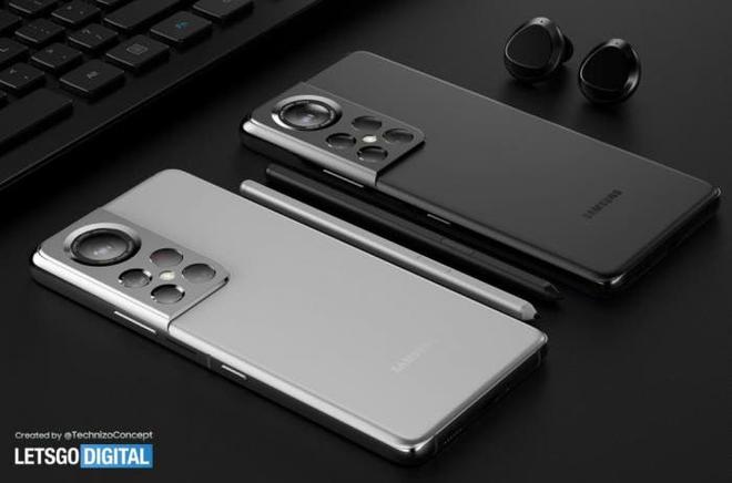 Đây có thể là thiết kế của Samsung Galaxy S22 Ultra - Ảnh 4.
