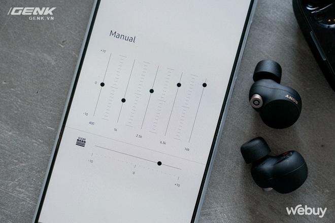 Trên tay Sony WF-1000XM4: Nhỏ gọn, pin trâu, chống ồn đỉnh chóp, giá 6.49 triệu - Ảnh 10.