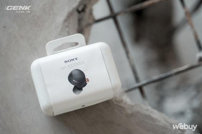 Trên tay Sony WF-1000XM4: Nhỏ gọn, pin trâu, chống ồn đỉnh chóp, giá 6.49 triệu - Ảnh 5.