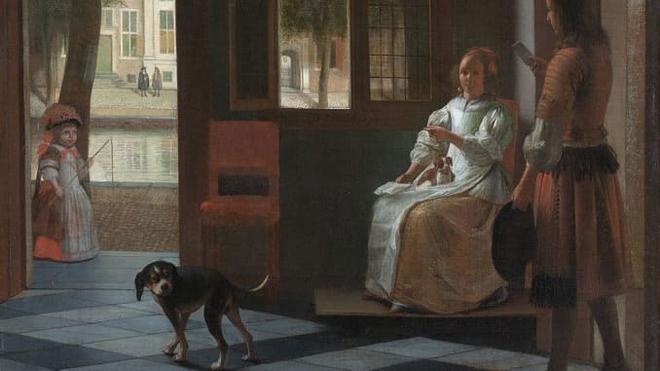 Săm soi tranh vẽ từ năm 1860 phát hiện nhân vật chính cầm một thứ rất giống iPhone - Ảnh 2.