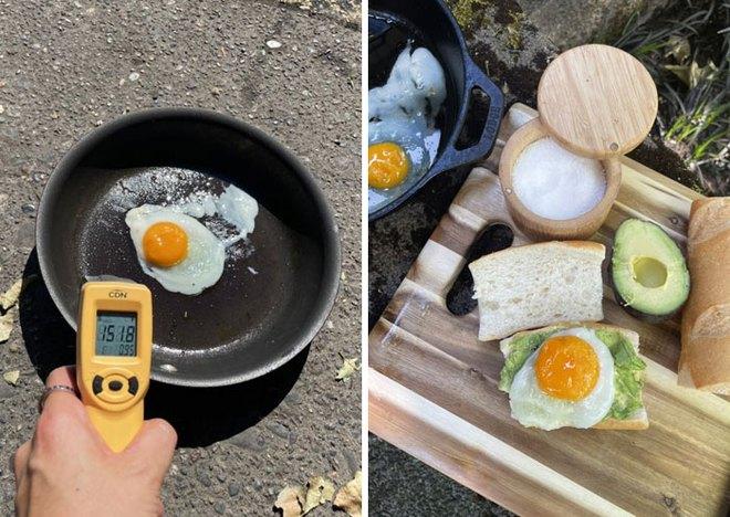 20 hình ảnh cho thấy cái nóng như thiêu đốt tại Mỹ và Canada: mặt đường nứt toát, nấu trứng không cần lửa - Ảnh 20.